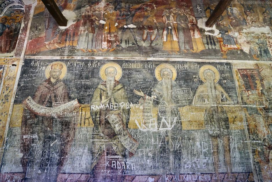 Albanien_Malereien orthodoxe Kirche - Reisen - Reiseberichte - Reisetipps