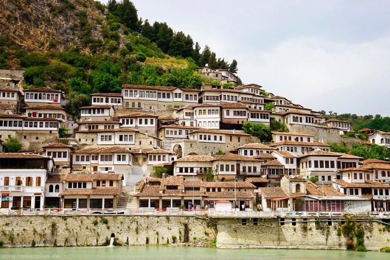 Albanien - Stadtansicht Berat - Reisen - Reisetipps - Reiseberichte
