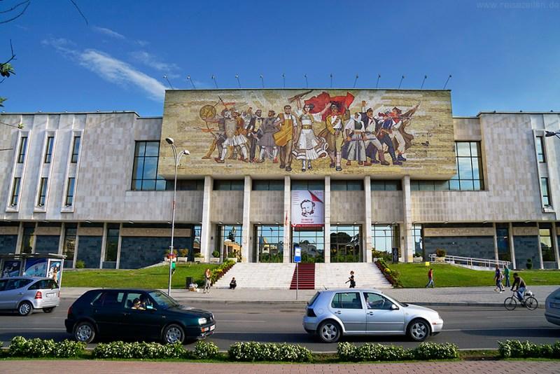 Albanien Reisebericht Reisetipps Tirana City Guide Nationalmuseum