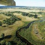 Rundflug mit der Cessna über das Okavango Delta