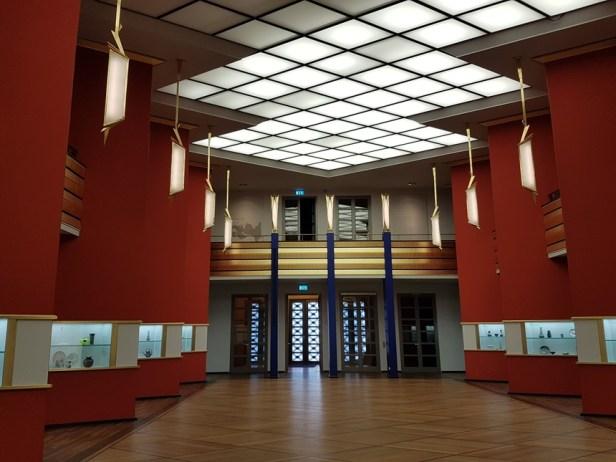 Art deco interieur van het Grassi Museum in Leipzig