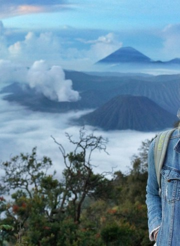 Video Mount Bromo Java, Indonesië