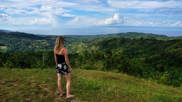 Rondreis Filipijnen: Siquijor uitzicht Maria