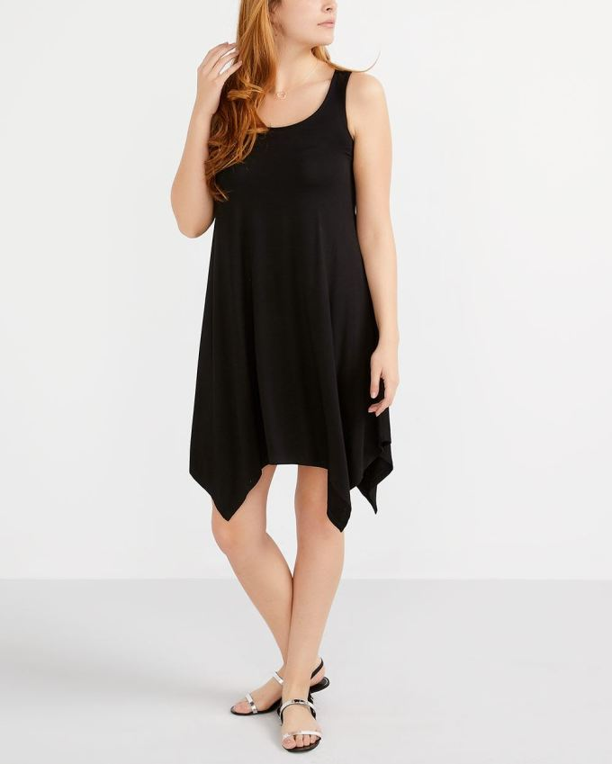 Solid Sundress with Cut-Out at Back