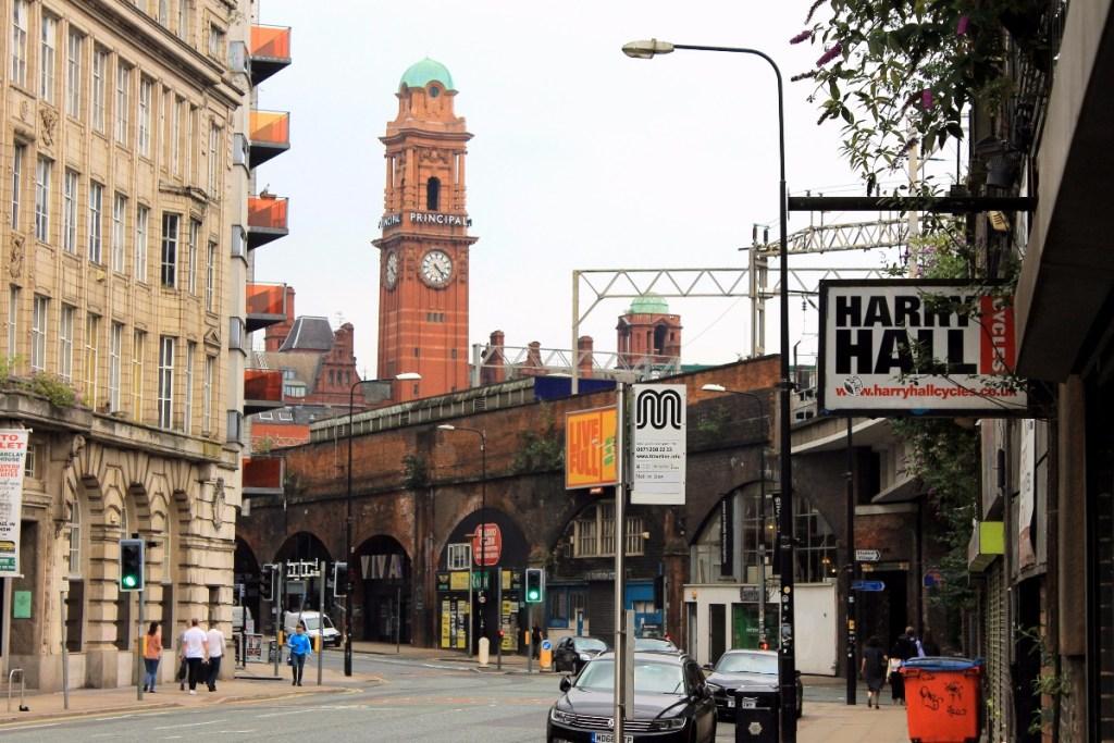 Manchester met de trein
