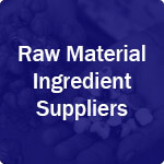 icon for Raw Material Ingredient Suppliers