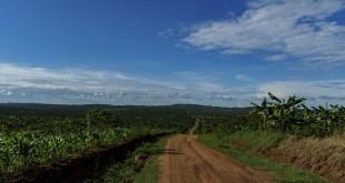 Øst Afrika, på cykel mod Fort Portal Uganda
