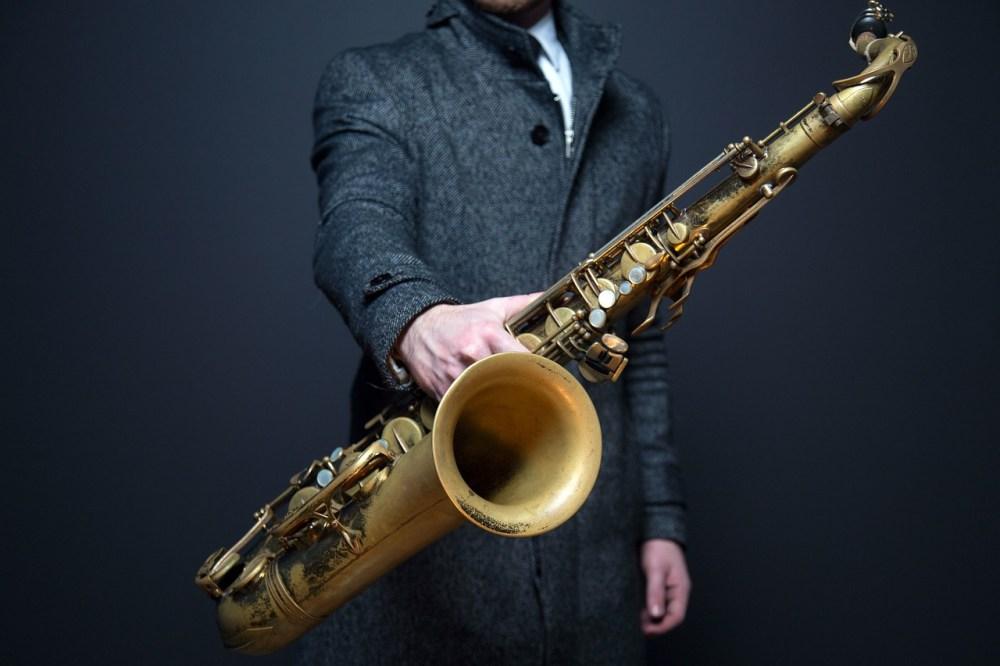 Elbjazz 2018, foto af saxofon