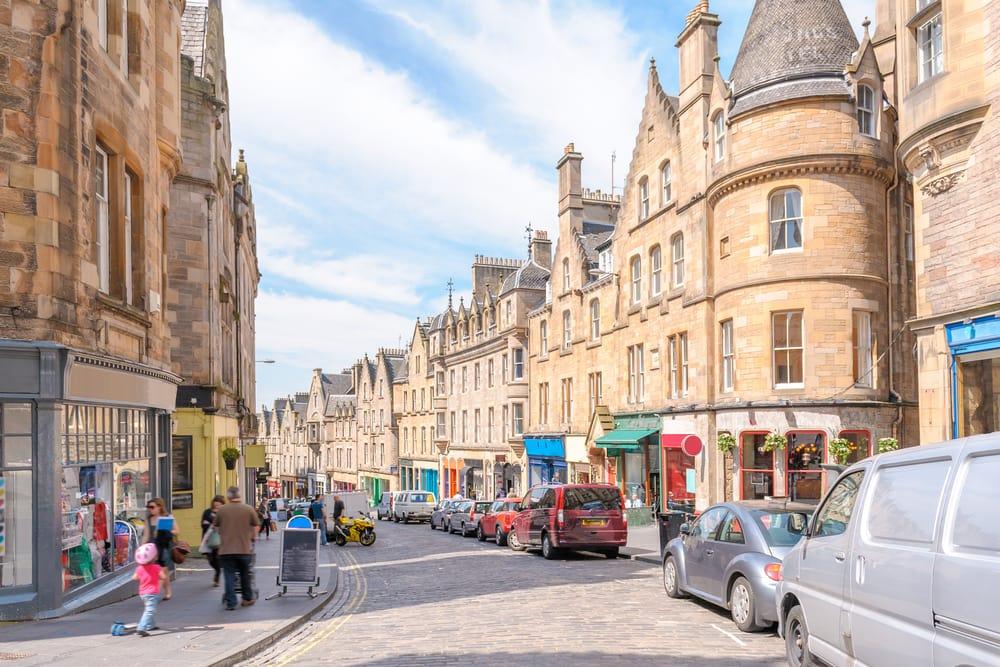 Edinburgh - Skotland