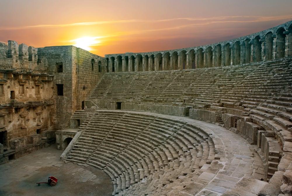 Aspendos amphitheater - Antalya i Tyrkiet