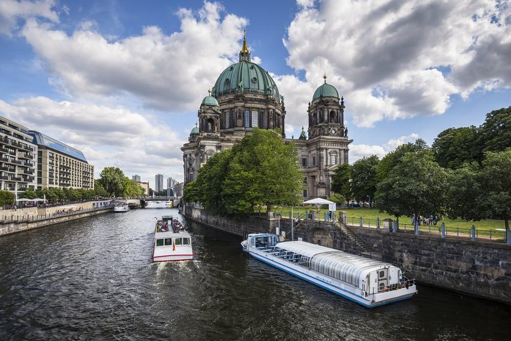 Berliner Dom på museumsøen - Berlin i Tyskland