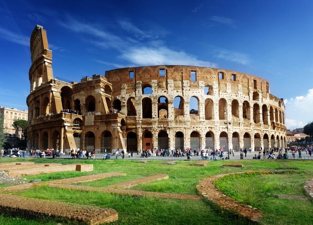 Colleseum i Rom i Italien