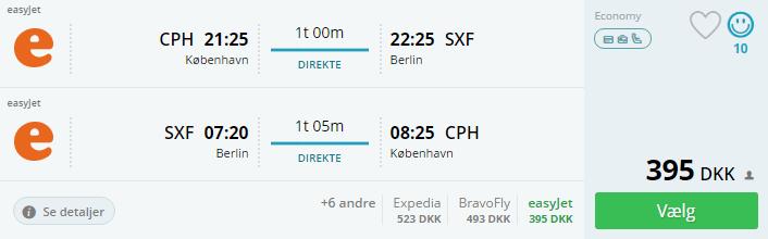 Fly til Berlin i efterårsferien