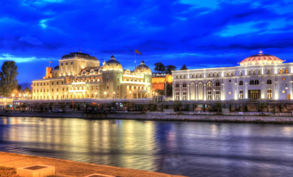 Hold efterårsferie i Skopje