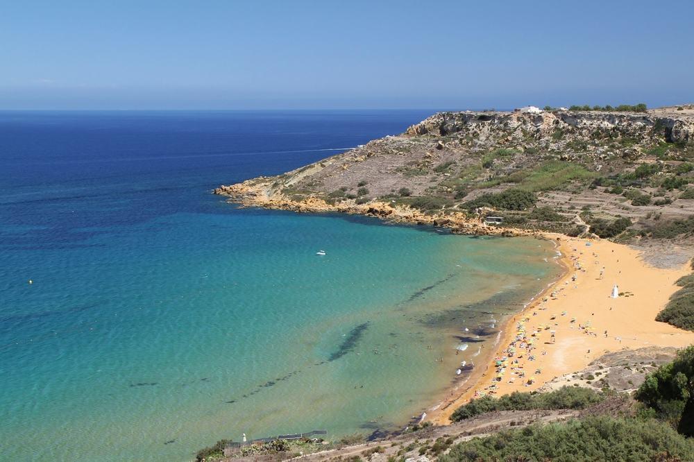 Golden Bay på Malta