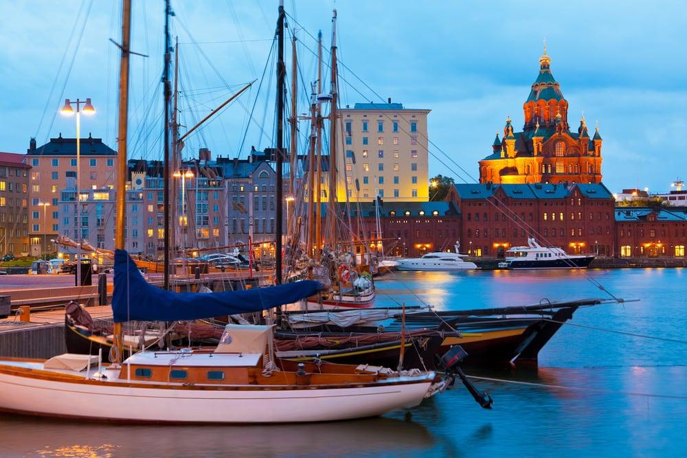 Katajanokka distriktet - Helsinki i Finland