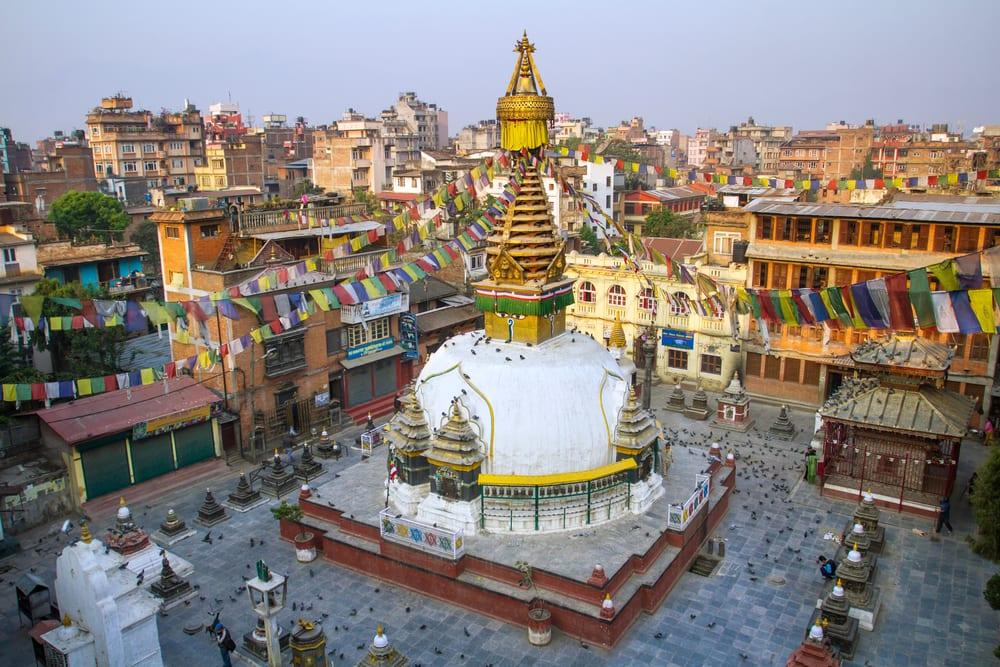 Kathesimbu Stupa - Katmandu i Nepal