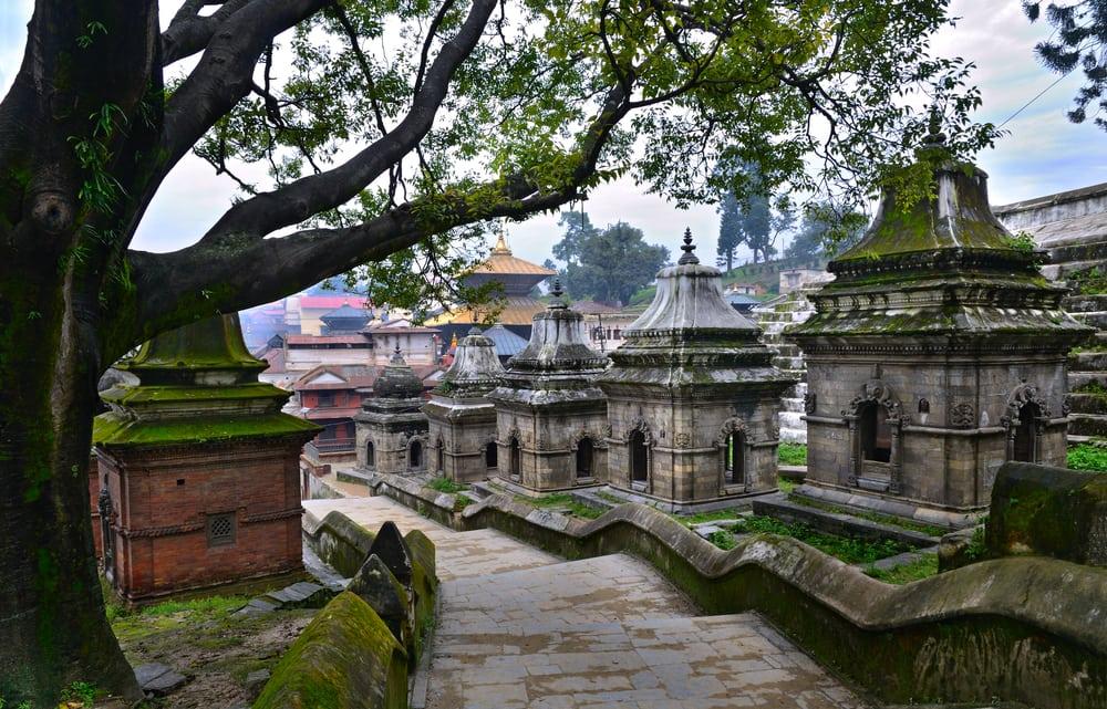 Pashupatinath templet - Katmandu i Nepal