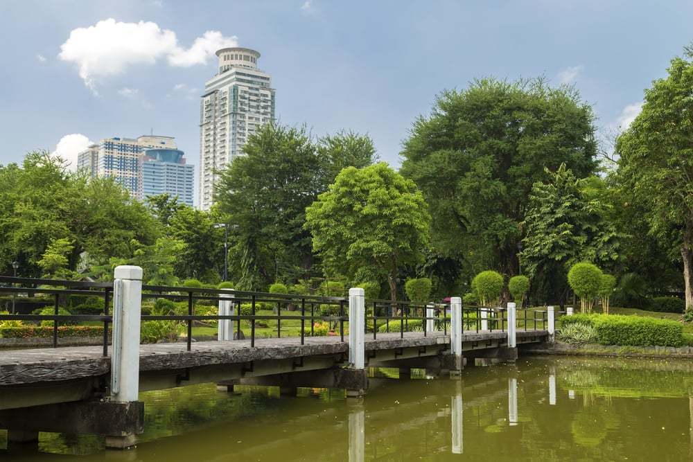 Rizal Park - Manila i Filippinerne