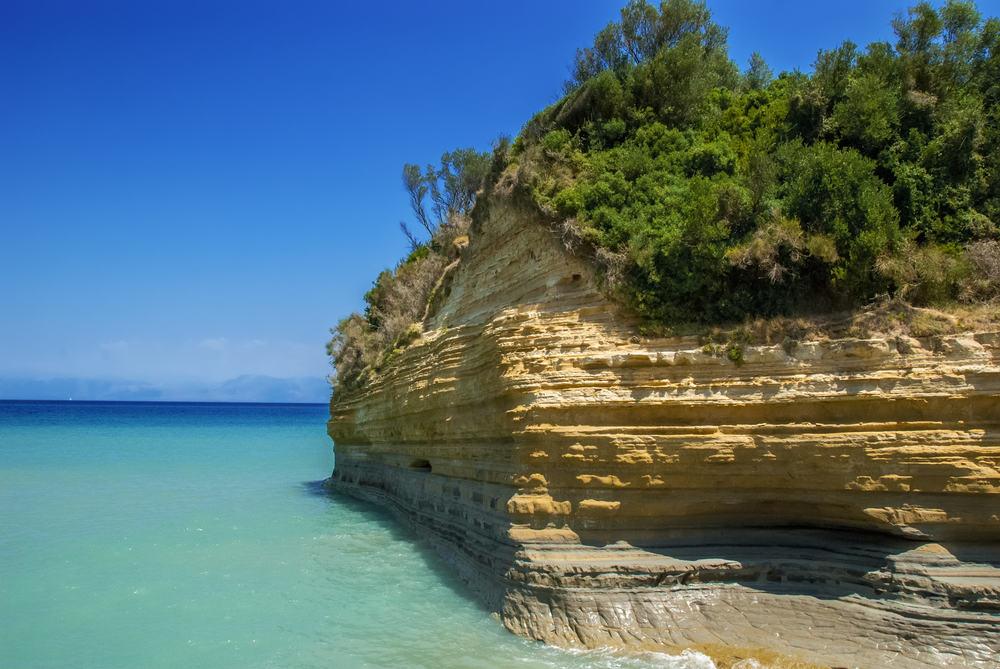 Sidari - Korfu i Grækenland