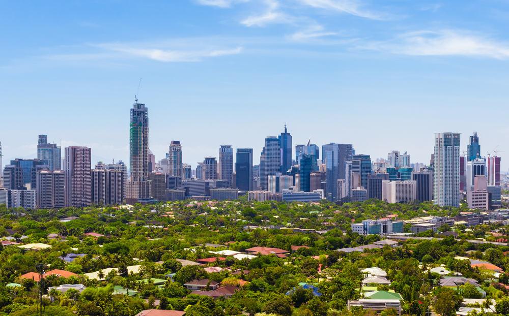Skyline - Manila i Filippinerne