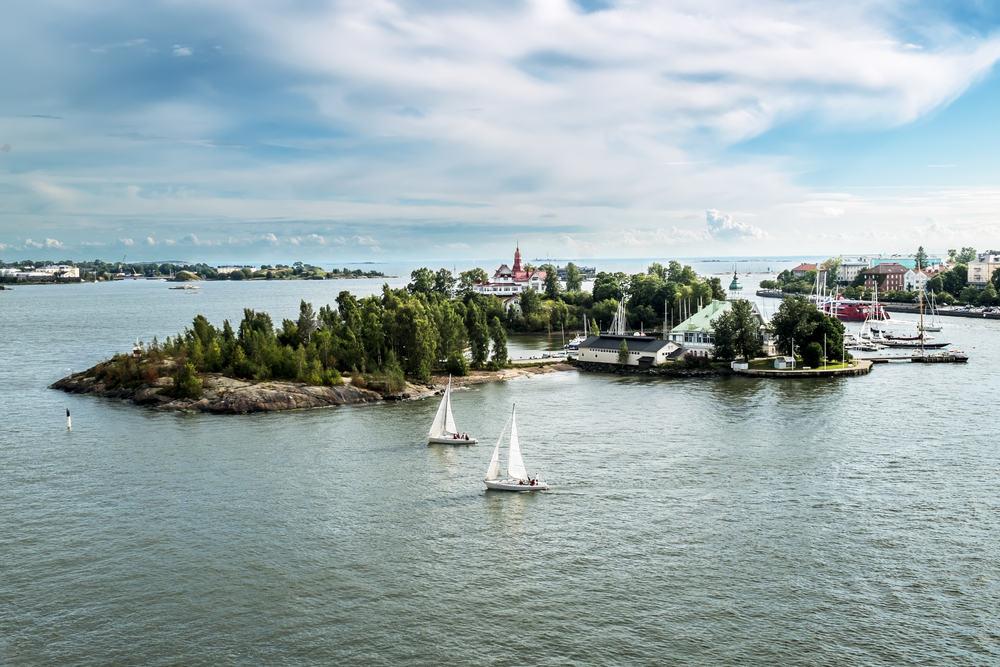 Suomenlinna - Helsinki i Finland