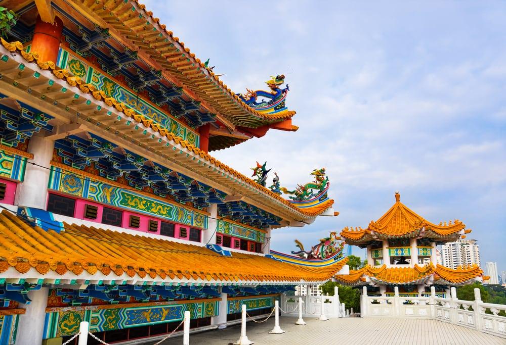 Thean Hou templet i Kuala Lumpur