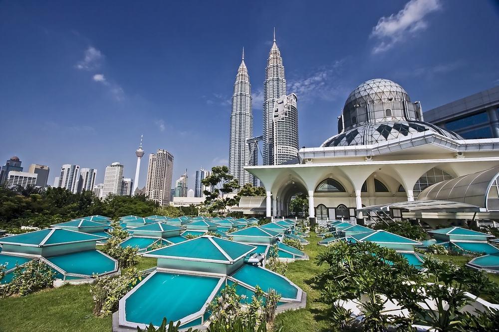 Twin Towers i Kuala Lumpur i Malaysia