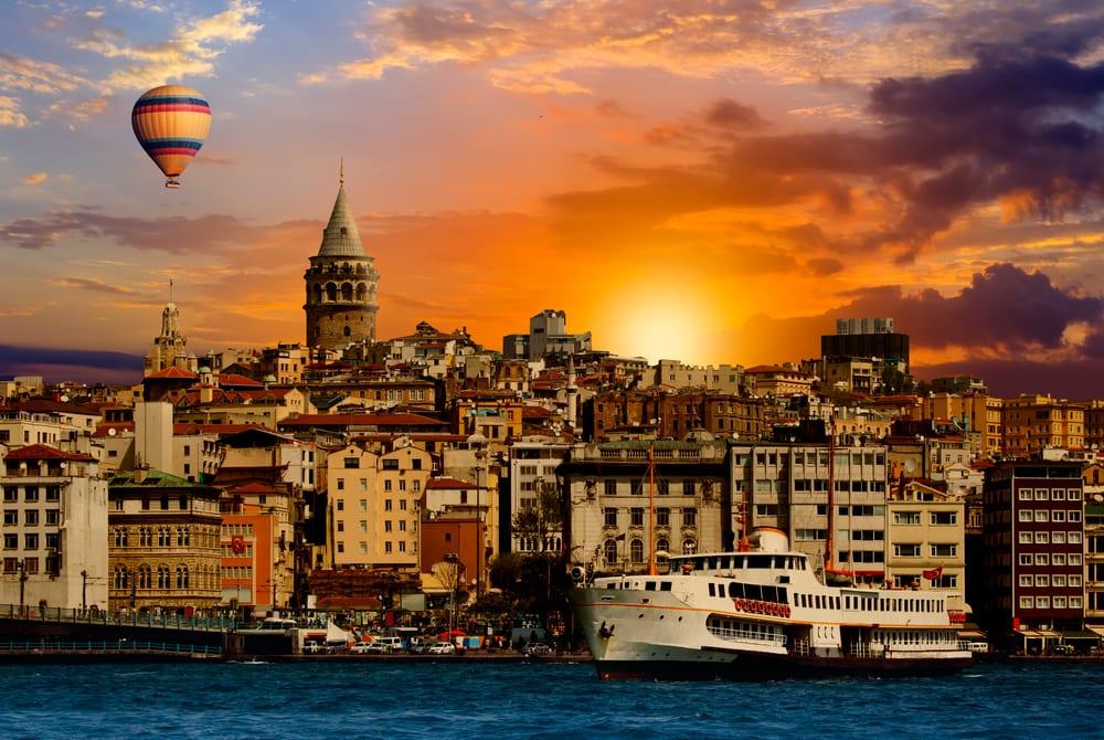 Galat tårnet - Istanbul i Tyrkiet
