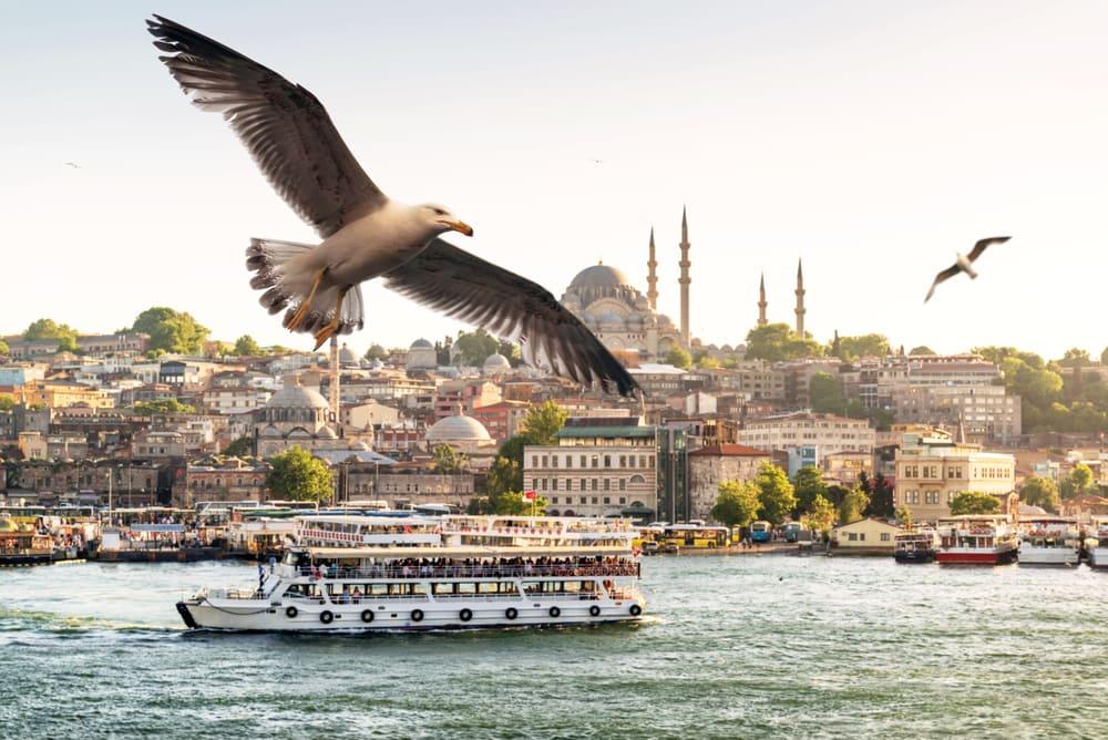 Golden Horn - Istanbul i Tyrkiet