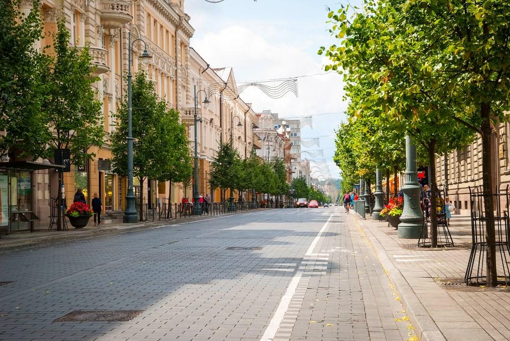 Litauens hovedstad Vilnius