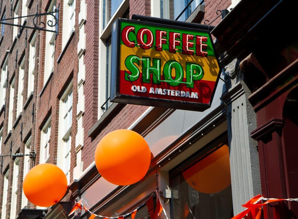 Coffee Shop - Amsterdam i Holland