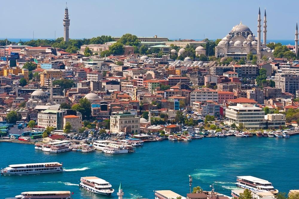 Det Gyldne Horn - Istanbul i Tyrkiet