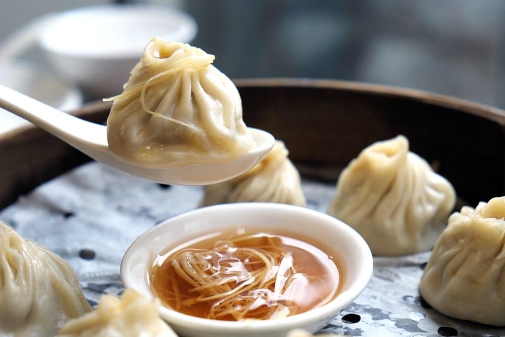 Dumplings - Shanghai i Kina