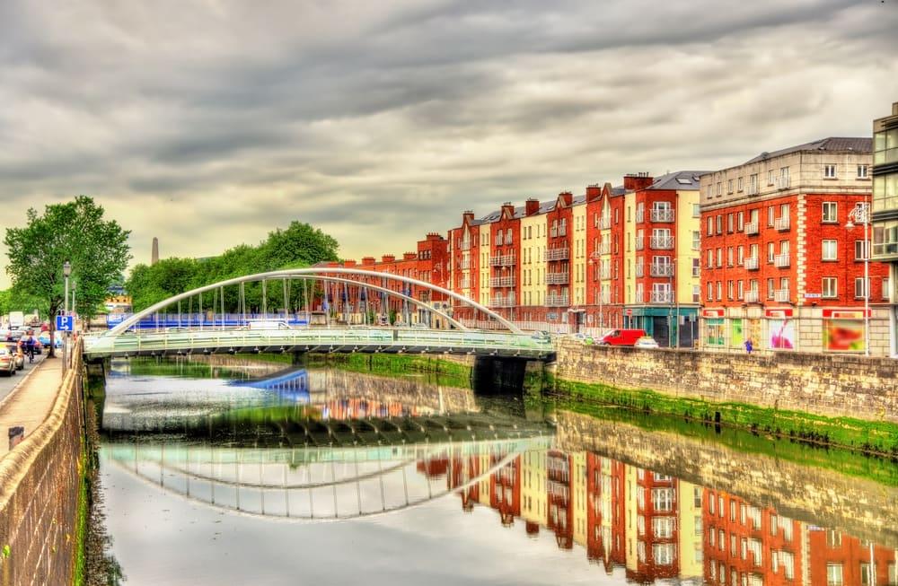 James Joyce Bridge - Dublin i Irland