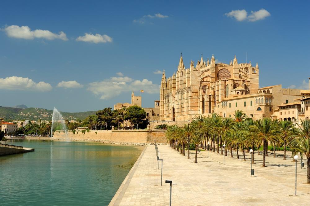 Seu Majorca katedral - Mallorca i Spanien