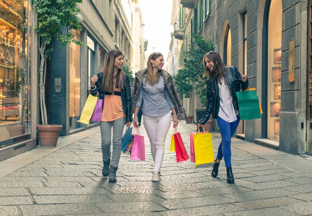 Shopping - Milano i Italien