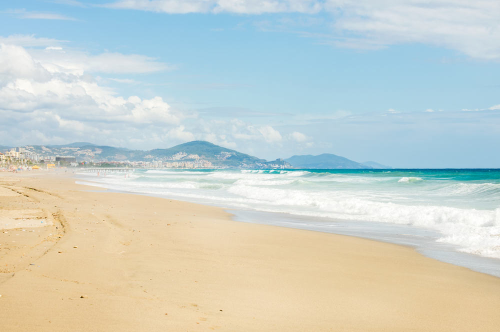 Dejlig strand - Alanya i Tyrkiet