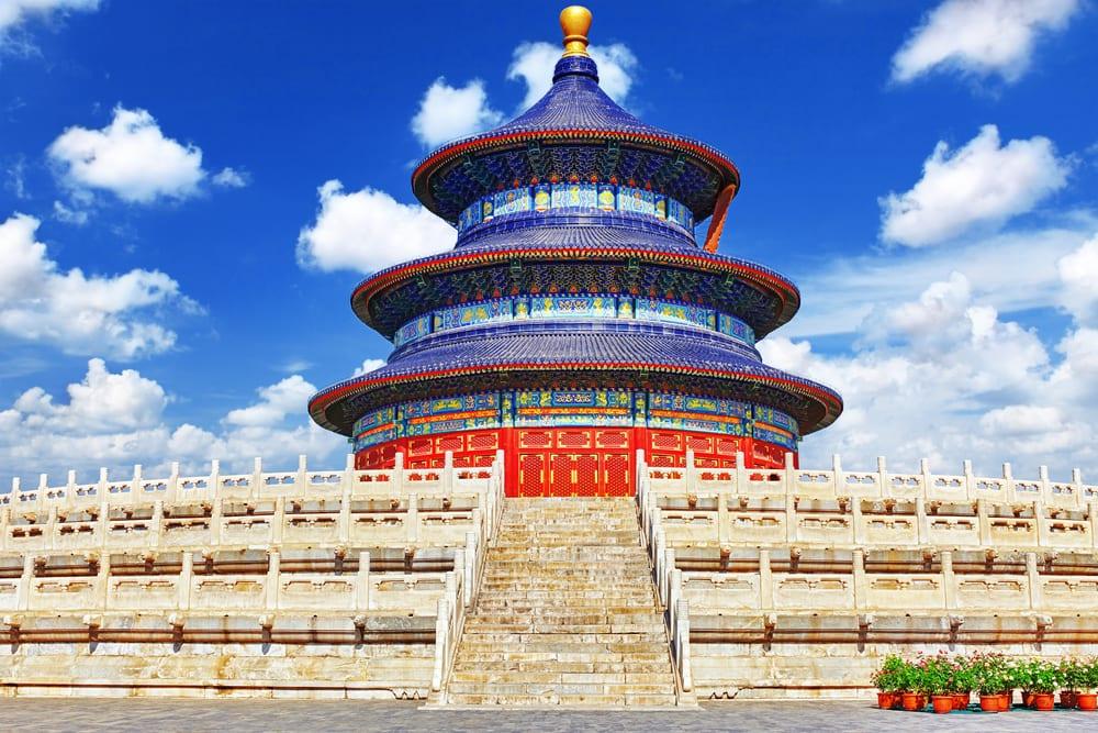 Tempel i Beijing i Kina
