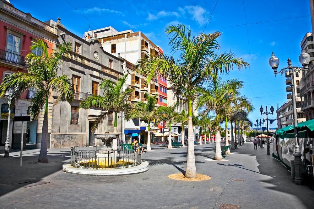 Santa Cruz de Tenerife - Tenerife i Spanien