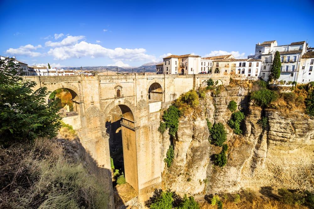 Ronda broer - Malaga i Spanien