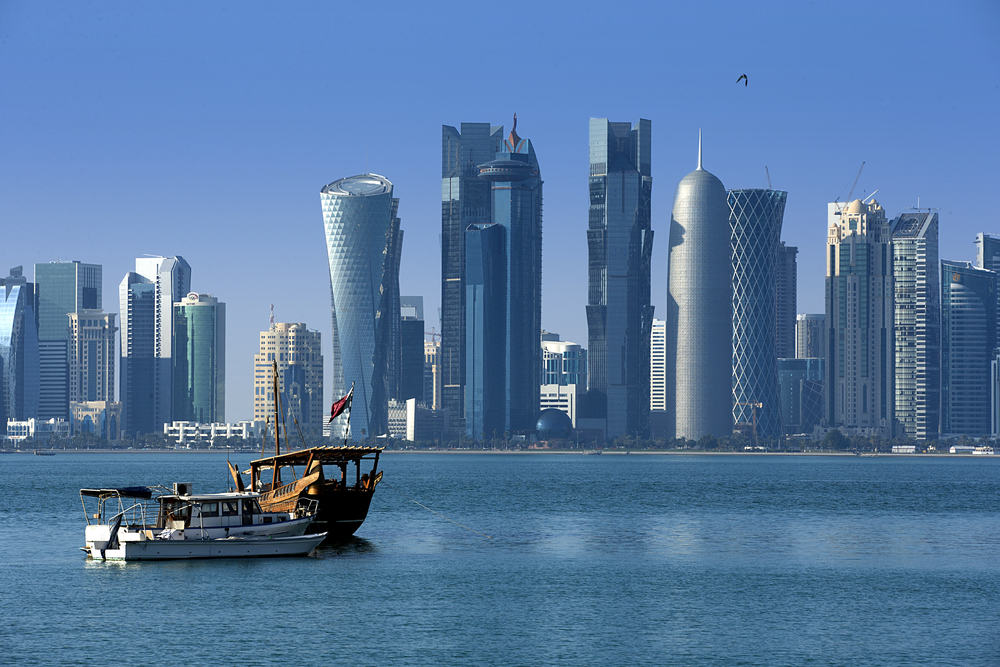 Mellemøsten - Doha i Qatar