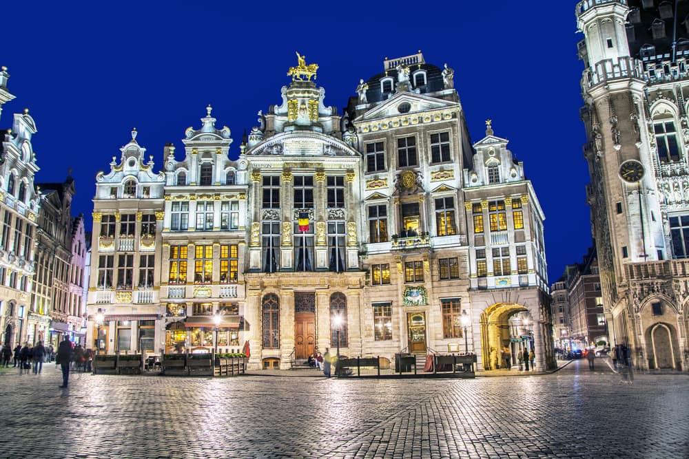 Grand Place - Bruxelles i Belgien