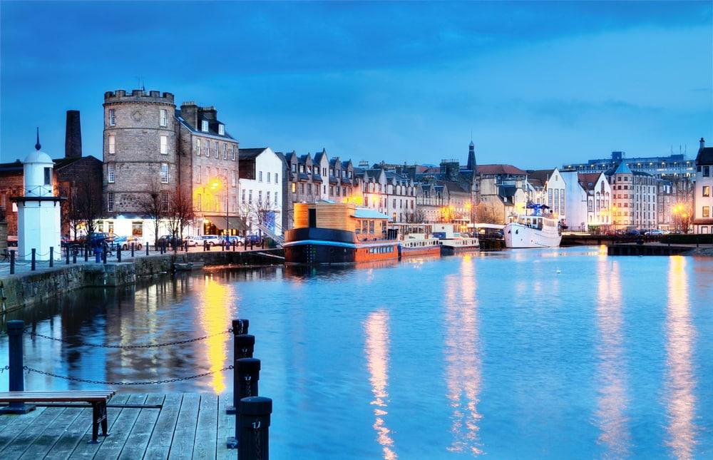 Havnemiljø - Edinburgh i Skotland