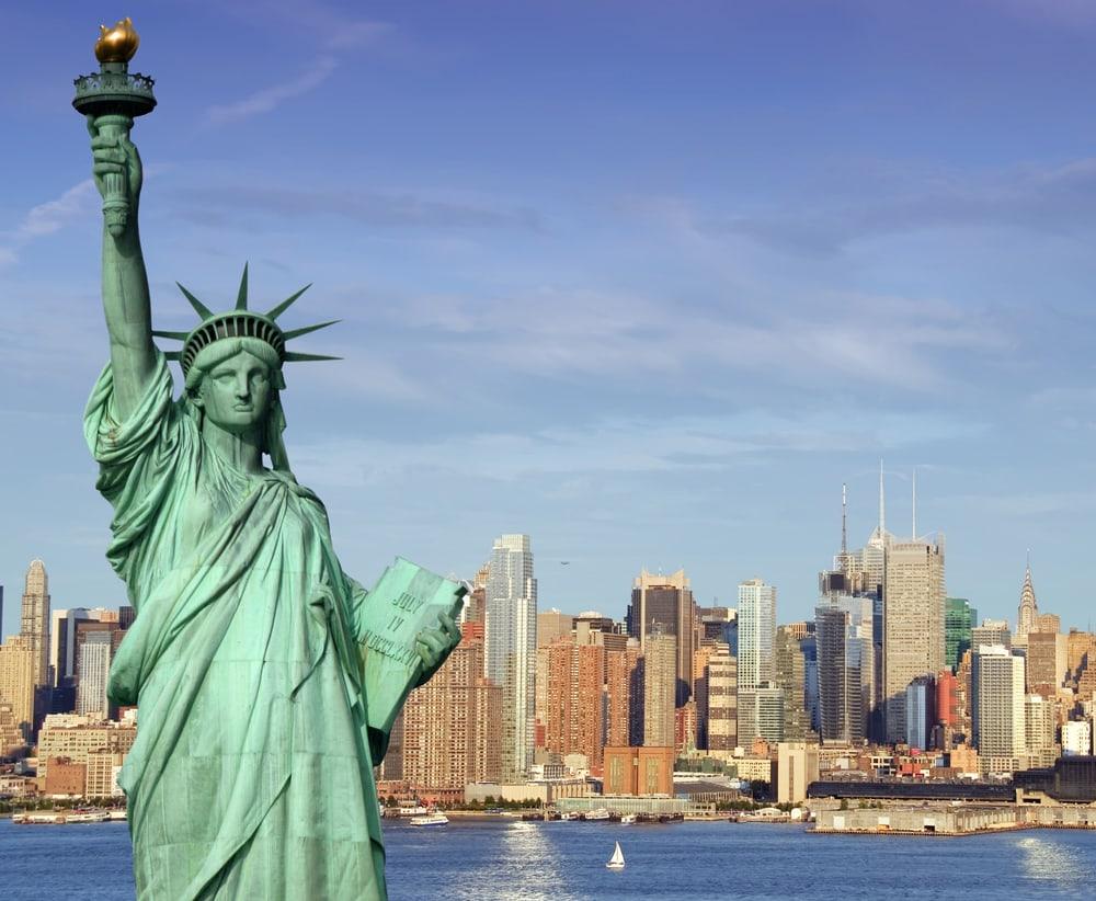 Frihedsgudinden - New York