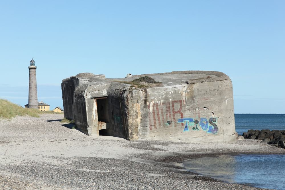 Bunker fra 2. Verdenskrig - Skagen i Nordjylland
