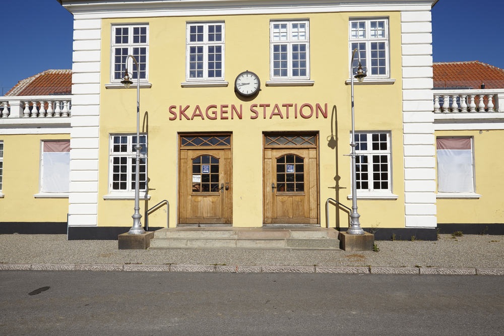 Skagen Station i Nordjylland