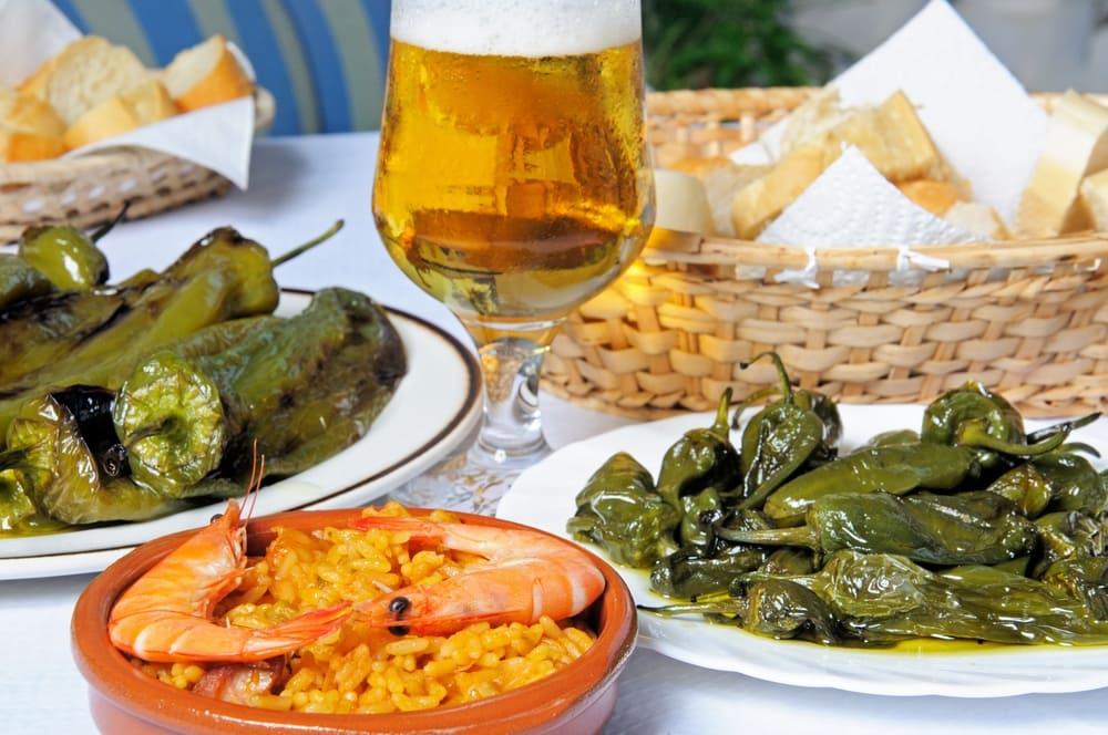 Tapas i Malaga