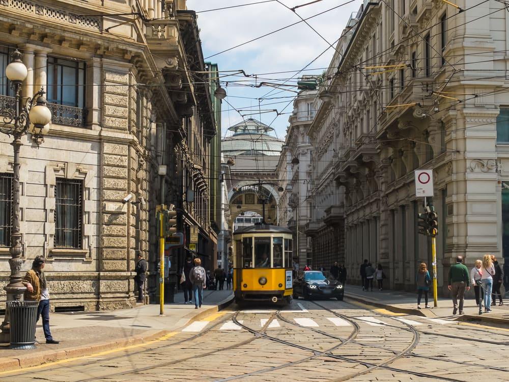 Sporvogn - Milano i Italien