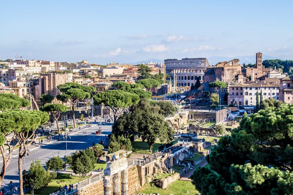 Colloseum - Rom i Italien